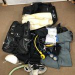 TUSAのレギュレーター、BCジャケット、その他をお買取しました