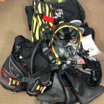 TUSAのレギュレーター、BCジャケット、フィン、ブーツ、その他をお買取しました