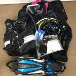 TUSAのレギュレーター、BCジャケット、ダイブコンピューター、その他をお買取しました