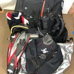 TUSAのレギュレーター、BCジャケット、SPLENDIDOのドライスーツ、その他をお買取しました